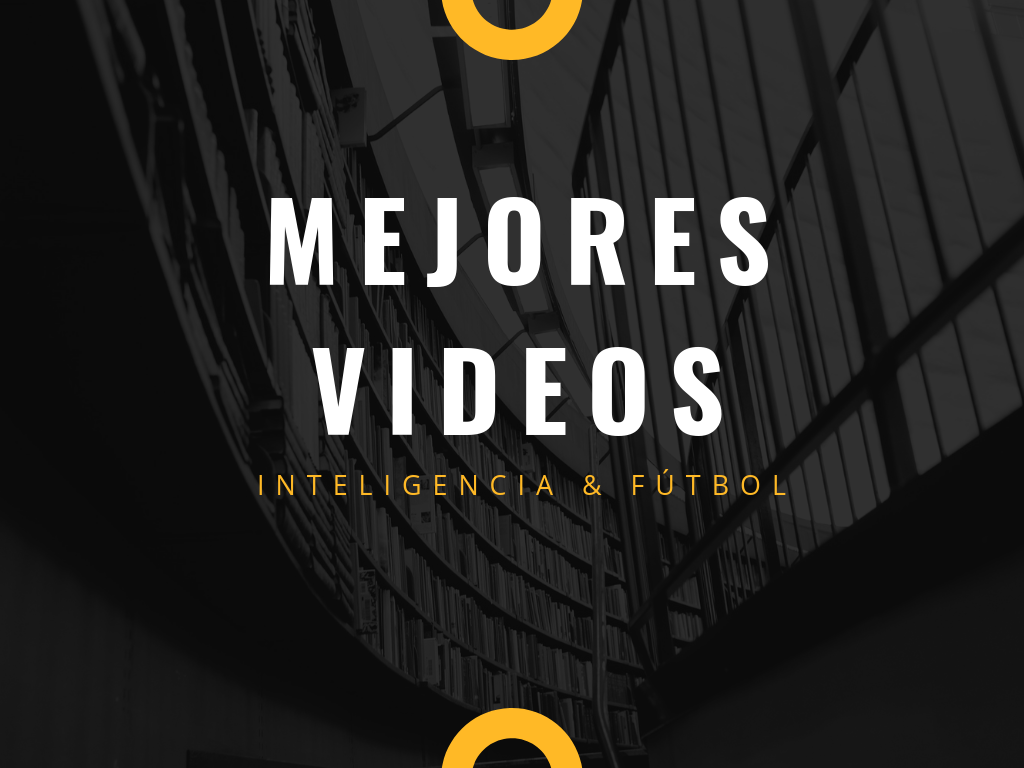 Mejores documentales y ponencias sobre inteligencia y fútbol.