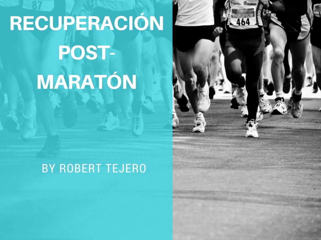 Recuperación post-maratón