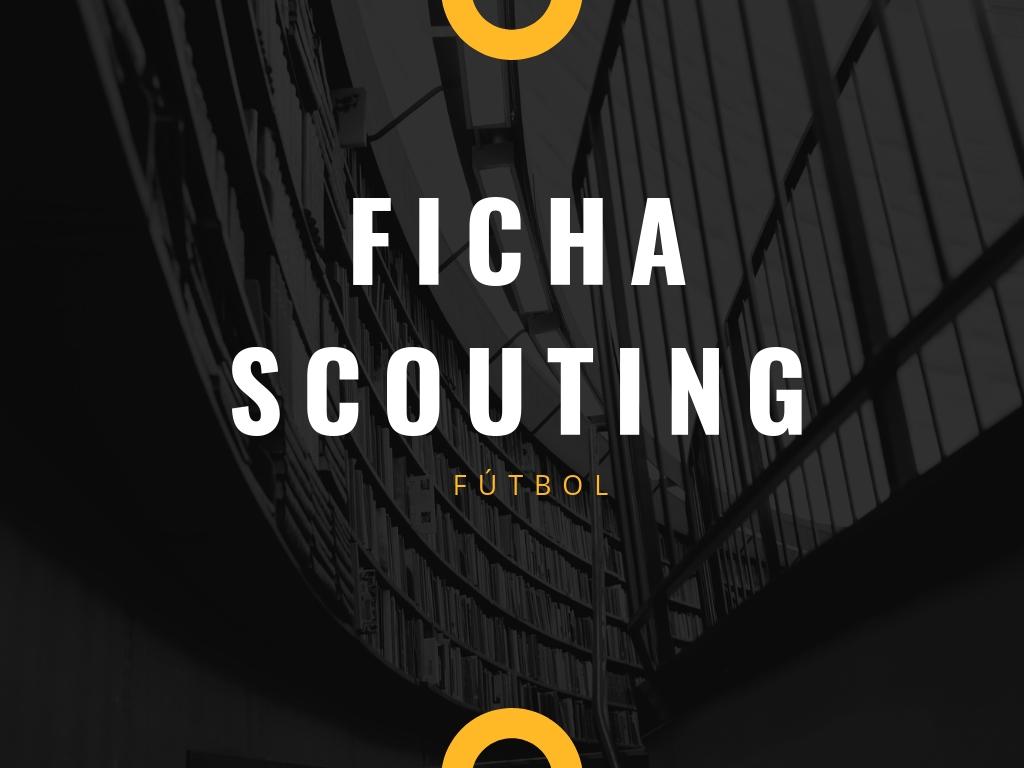 ¿Necesitas una ficha de scouting para tus partidos de fútbol?