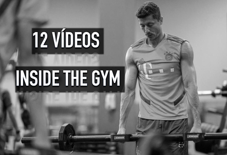 12 Videos de entrenamientos de fuerza en equipos de fútbol 'Inside the gym'.
